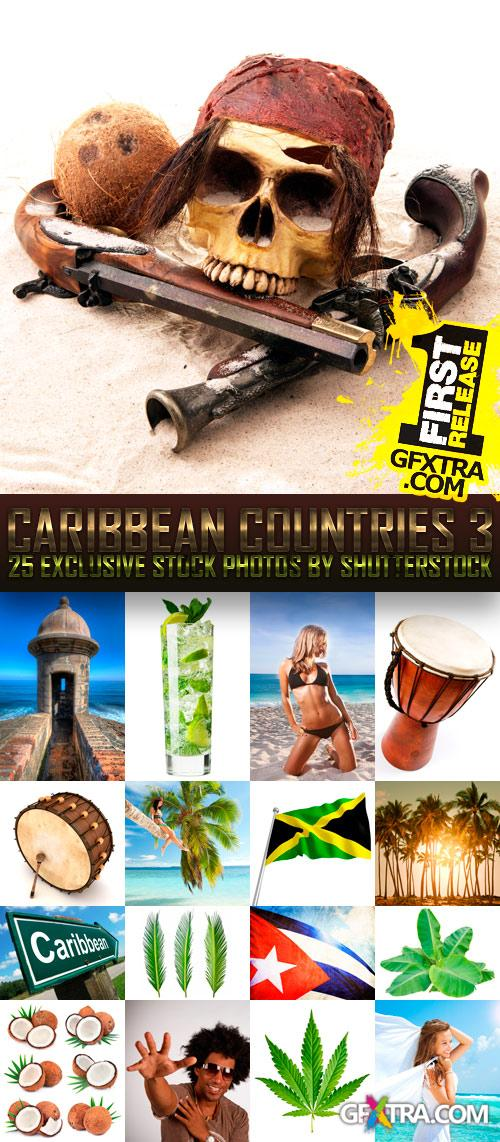 Amazing SS - Caribbean Countries 3, 25xEPS