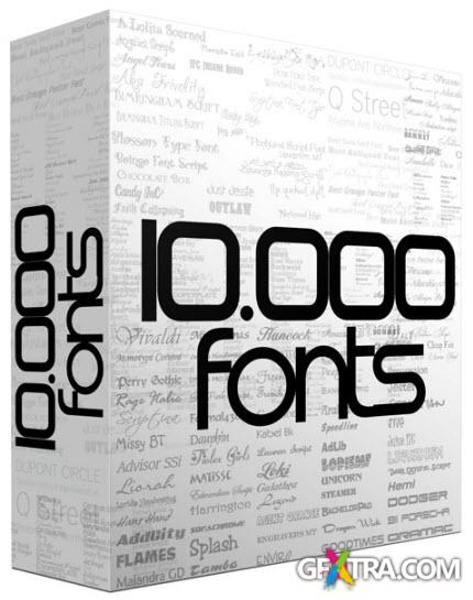 10.000 Font Collection (Mar 2013)