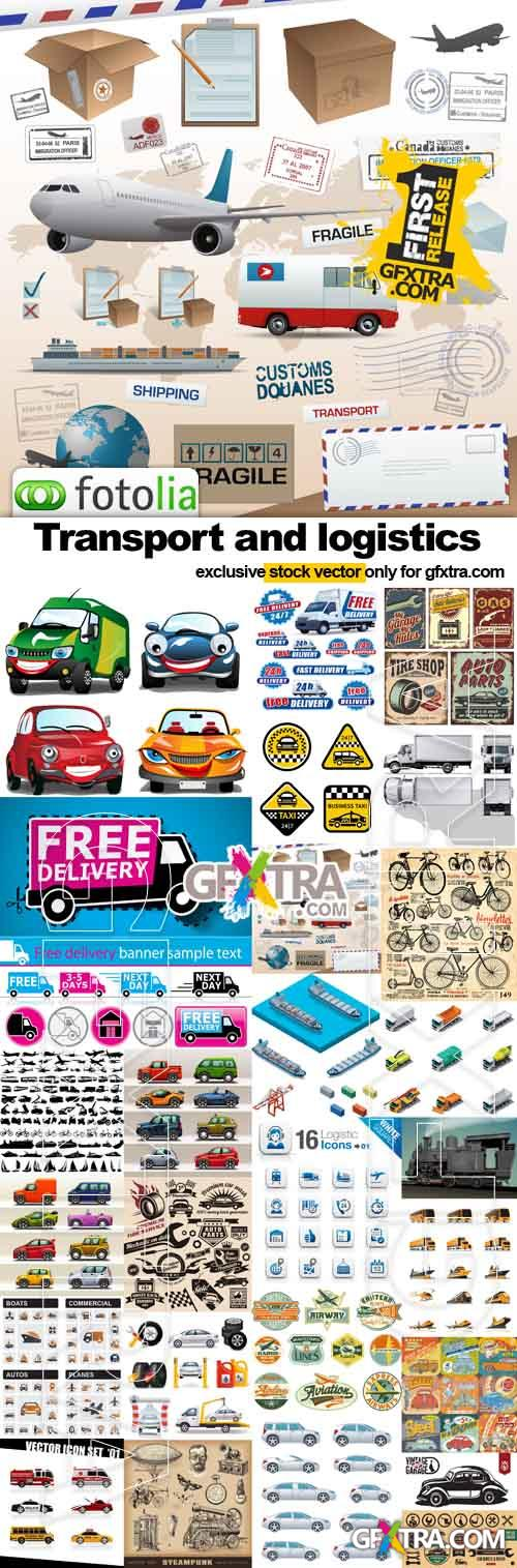 Transport and logistics - 25xEPS