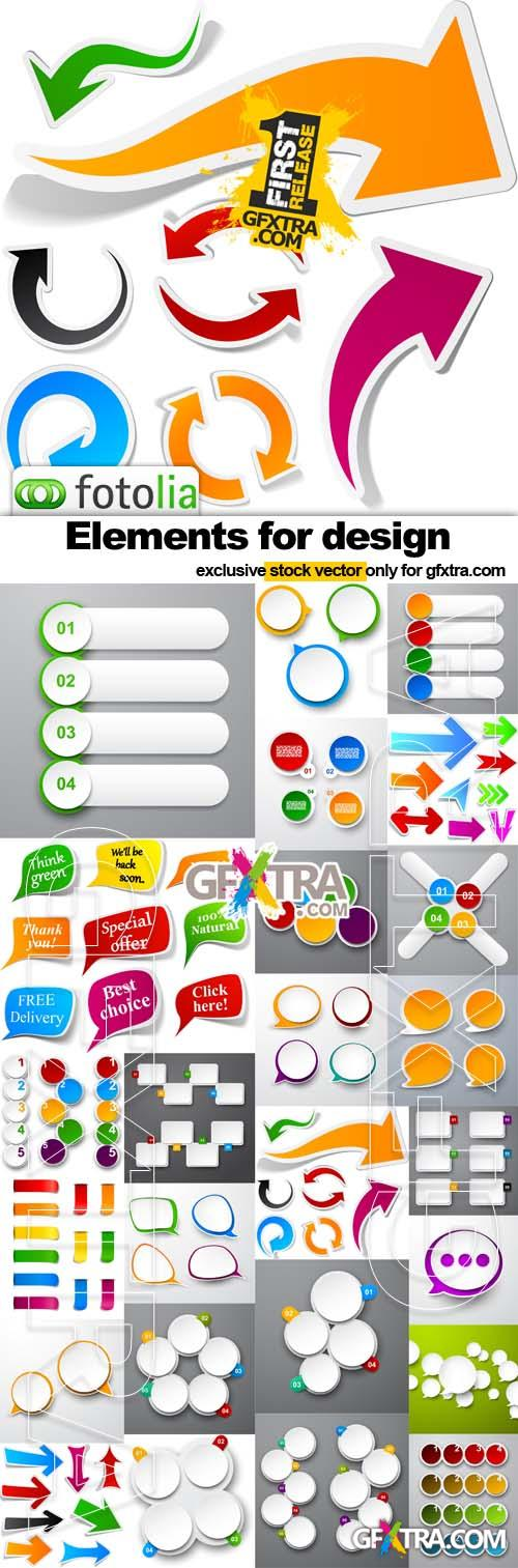 Elements for design - 25xEPS