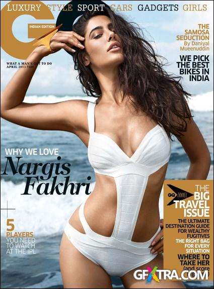 GQ India - April 2013 (True PDF)