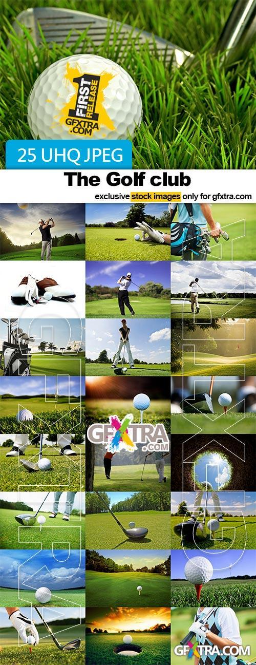 The Golf club - 25x JPEGs