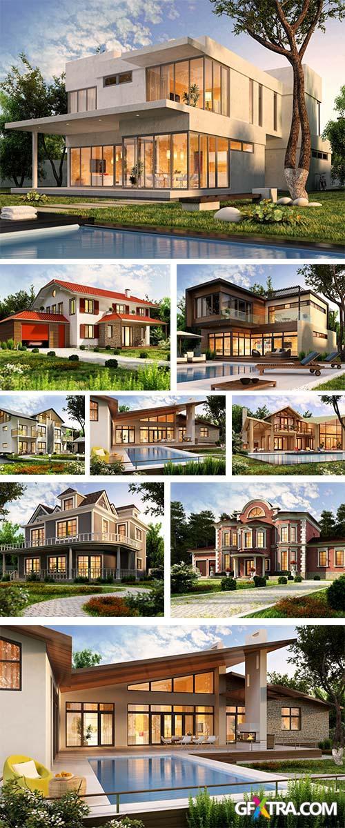 Stock Photo: The dream house