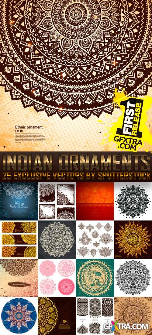 Amazing SS - Indian Ornaments, 25xEPS