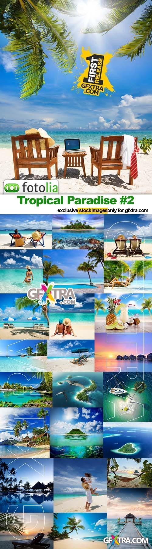 Tropical Paradise #2 - 25x JPEGs