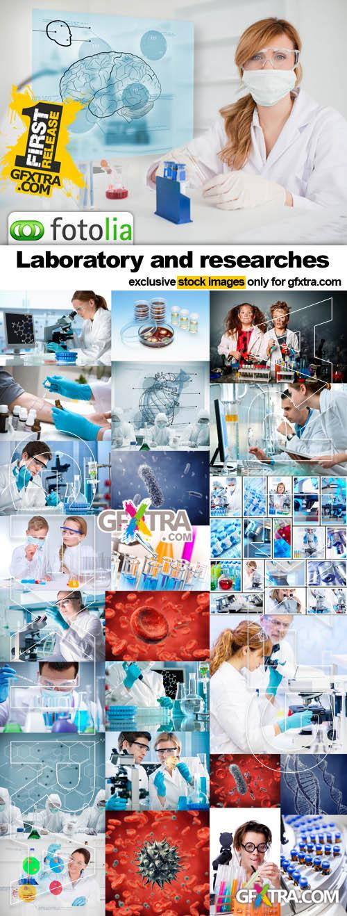 Laboratory and researches - 25x JPEGs