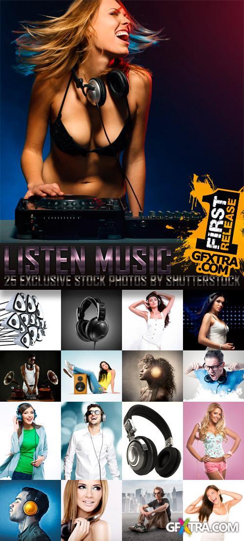 Amazing SS - Listen Music, 25xJPGs