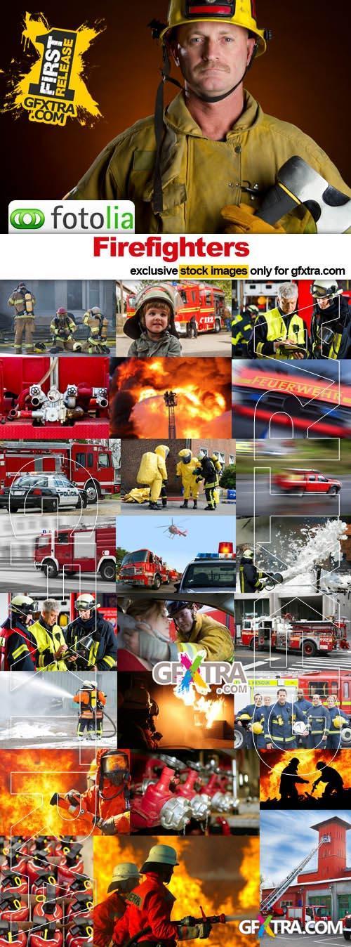 Firefighters - 25x JPEGs