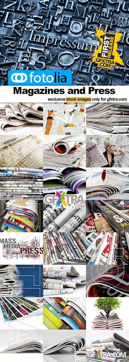 Magazines and press - 25x JPEGs