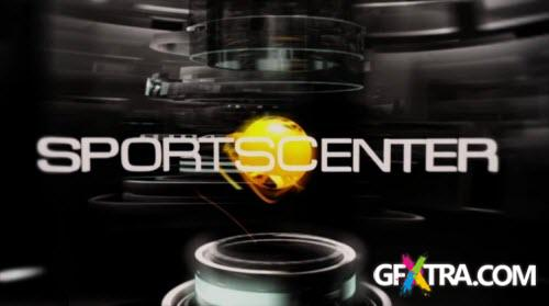 ESPN Sportscenter Intro - Project for After Effects & Blender