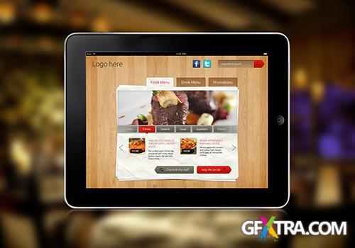 PSD Source - iPad Tab Content