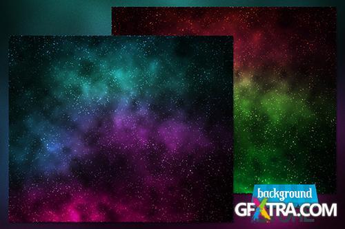 PSD Source - Stars Nebula Backgrounds