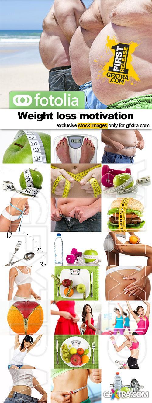Weight loss motivation - 25x JPEGs