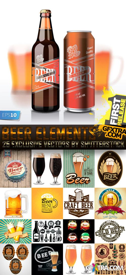 Amazing SS - Beer Elements, 25xEPS