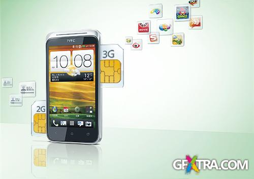 PSD Source - Creative Advertising SmartPhone 2