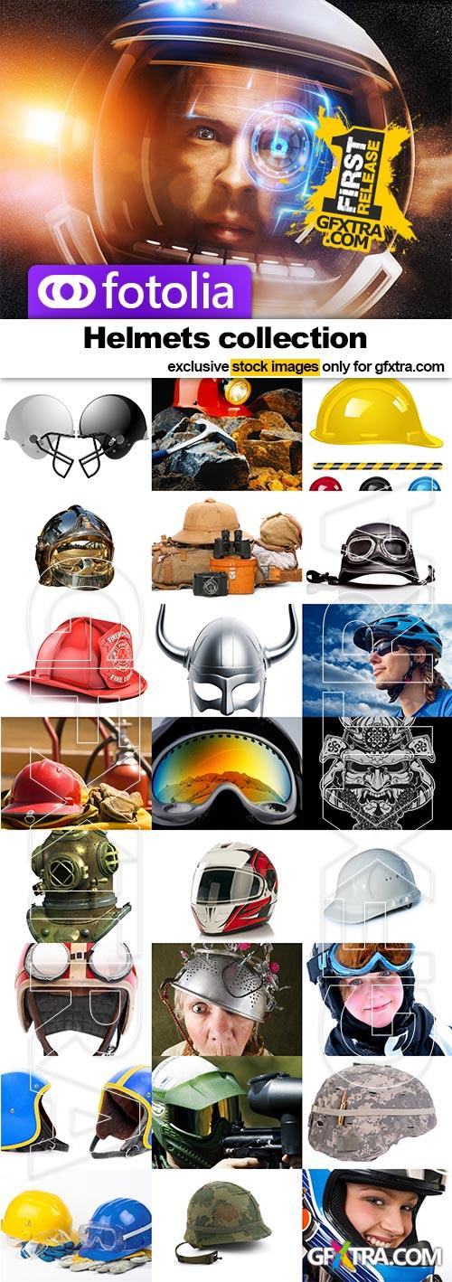 Helmets collection - 25x JPEGs