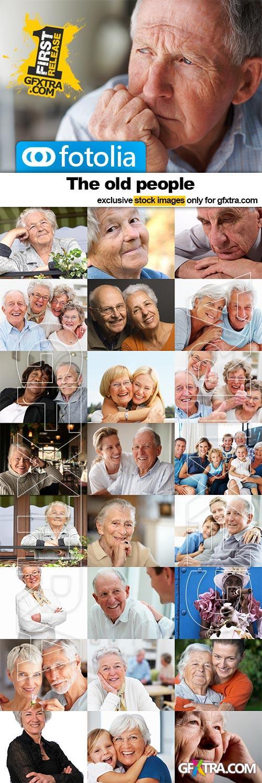 Old People portaits - 25x JPEGs
