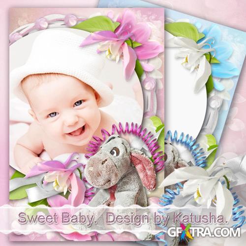 Child Photo Frames - Sweet Baby