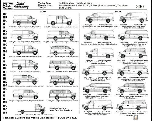 Cadlink Car N Truck Pro Vehicle Outlines 2008 2xdvd