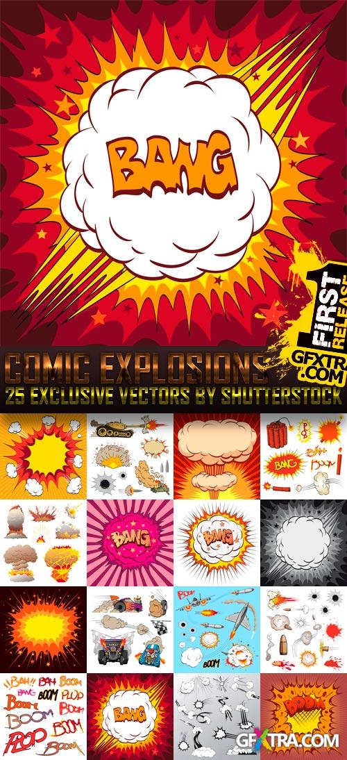 Amazing SS - Comic Explosions, 25xEPS