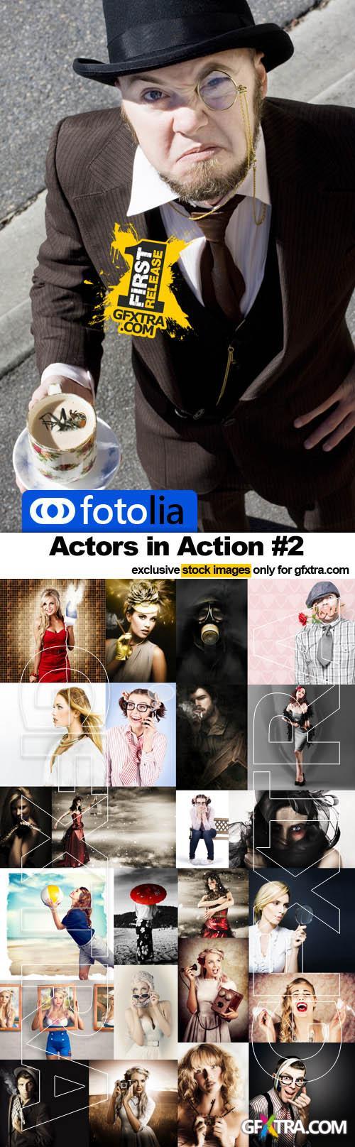 Actors in Action #2 - 25x JPEGs