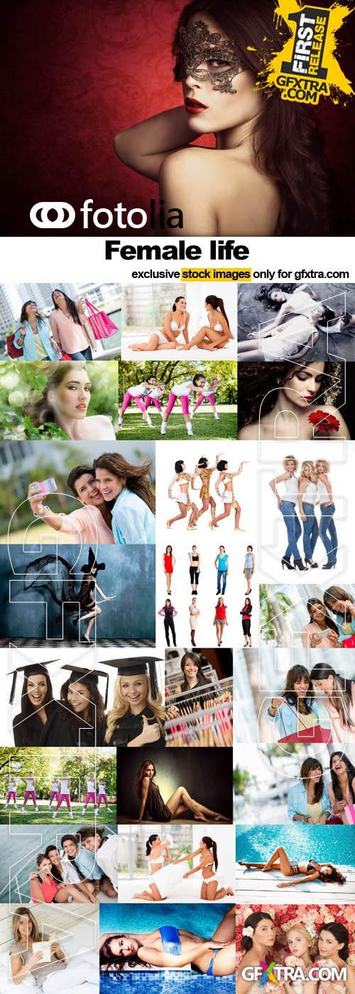Female life - 25x JPEGs