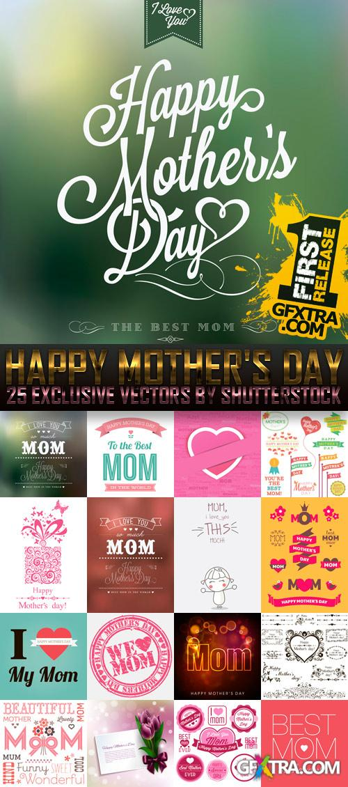 Amazing SS - Happy Mother's Day, 25xEPS