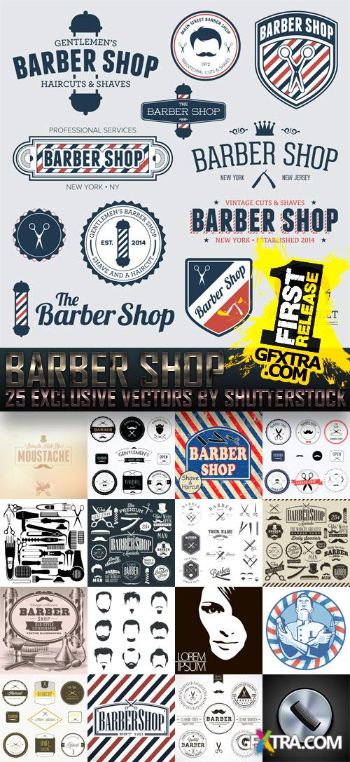 Amazing SS - Barber Shop, 25xEPS