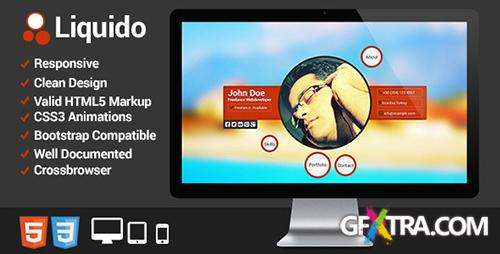 ThemeForest - Liquido - Responsive Personal Website - RIP