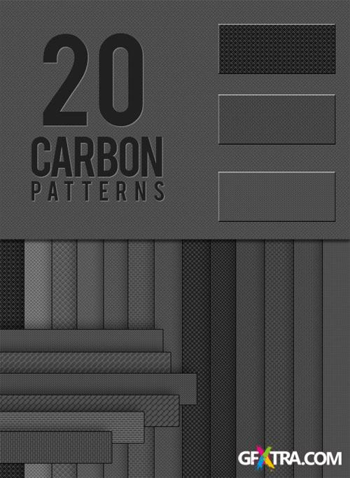 Designtnt - Carbon Photoshop Patterns