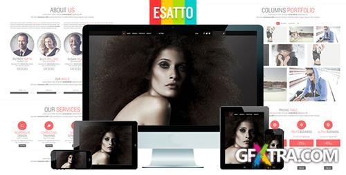 ThemeForest - Esatto - One Page Responsive Bootstrap Template - RIP