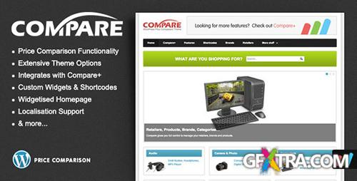 ThemeForest - Compare v1.2.1 - Price Comparison Theme for WordPress - FULL