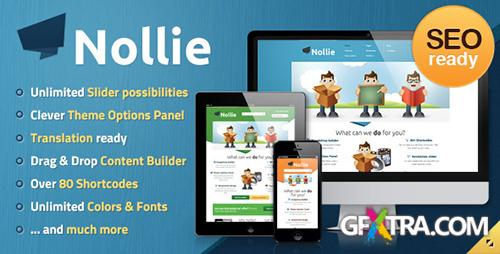 ThemeForest - Nollie v1.1.1 - Premium WordPress Theme - FULL