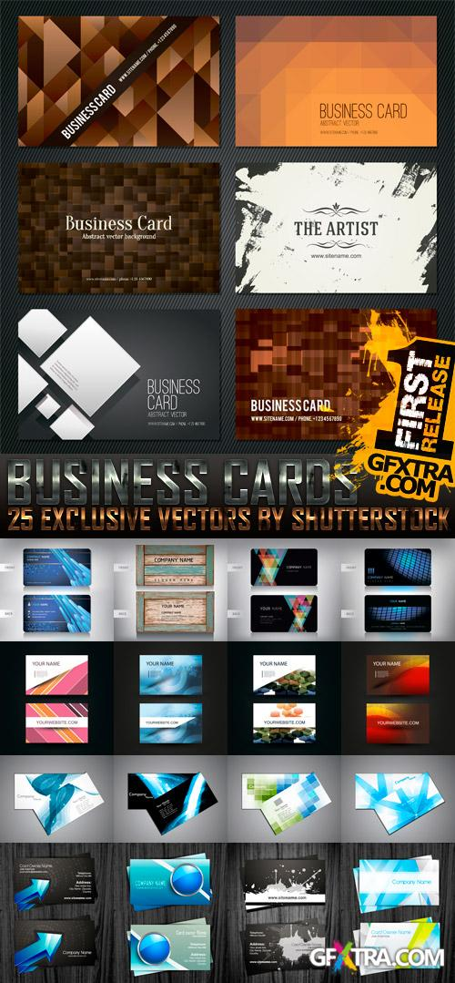 Amazing SS - Business Cards, 25xEPS