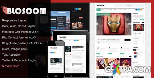 ThemeForest - Blosoom - Responsive Business HTML5 Template - RIP