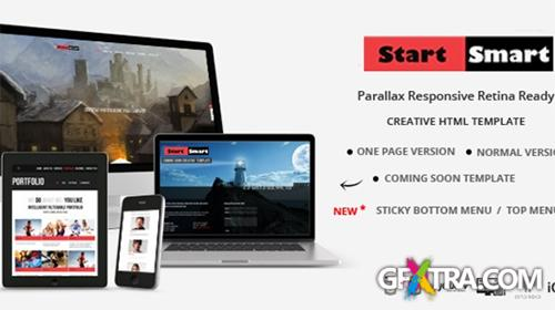 Mojo-Themes - Start Smart - Parallax Responsive Retina Ready