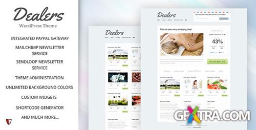 ThemeForest - Dealers v1.6 - Daily Deals WordPress Theme