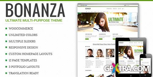 ThemeForest - Bonanza v1.0 - Responsive Multi-Purpose WordPress Theme