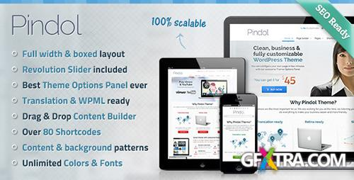 ThemeForest - Pindol v1.1.0 - Premium WordPress Theme