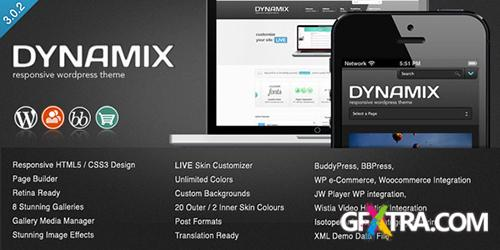 ThemeForest - DynamiX v3.0.2 - Premium Wordpress Theme