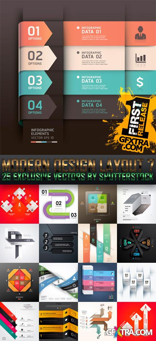 Amazing SS - Modern Design Layout 7, 25xEPS