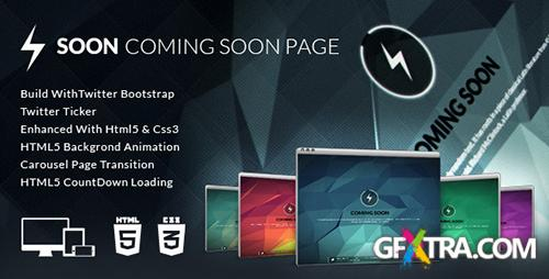ThemeForest - Soon - Coming Soon Template - RIP