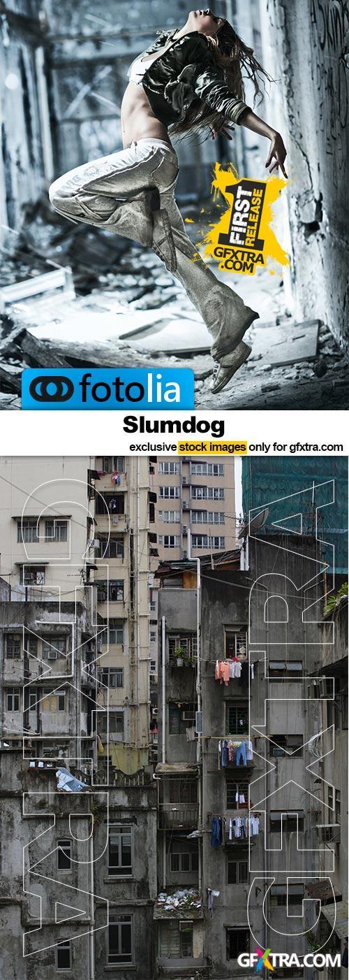 The Slumdog - 25x JPEGs