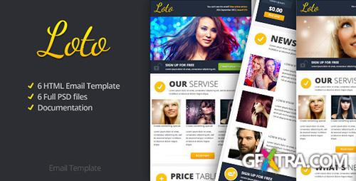 ThemeForest - Loto Email Template - FULL