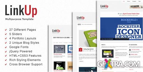 ThemeForest - LinkUp v1.0.2 - Multipurpose HTML Template