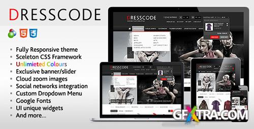 ThemeForest - Dresscode - Responsive osCommerce Theme - FULL