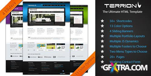 ThemeForest - Terrion - Premium HTML Theme - FULL