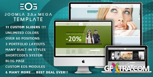 ThemeForest - EOS v2.1.1 - Template for Joomla - FULL