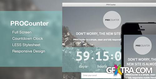 ThemeForest - PROCount: Countdown Landing Page - RIP