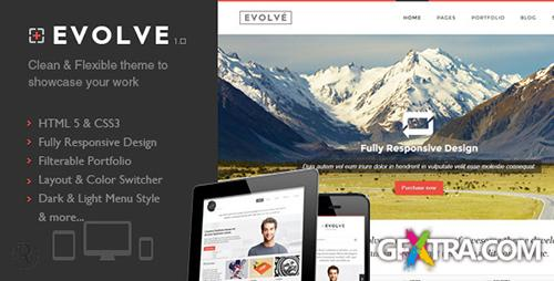 ThemeForest - Evolve - Responsive HTML Template